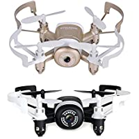 Price comparsion for RC Quadcopter JXD 512WD Small Size Unmanned Aerial Vehicle 2.4G 6-axis 4CH HD Camera WiFi FPV Gyro Remote Control Airplane Mould (Black)