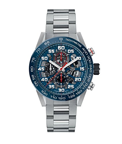 TAG Heuer Herren Uhr Chronograph Automatik mit Edelstahl Armband CAR2A1K.BA0703