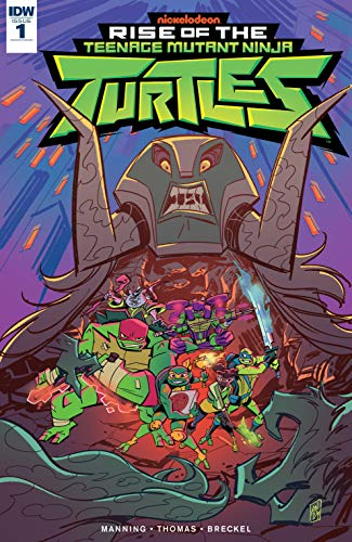 Teenage Mutant Ninja Turtles: Rise of the TMNT #1 (English ...
