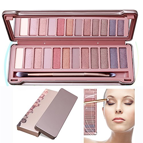 Lidschatten Augen Schatten Palette Make-up Kit Set Make Up Professional Box, KRABICE Ultra Flawless 12 Lidschatten Palette # 3