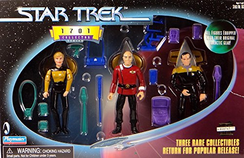 star-trek-limited-1701-collector-set-mit-lt-natasha-yar-captain-jean-luc-picard-und-lt-reginald-barc
