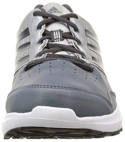 adidas Duramo Trainer, Chaussures de Fitness Homme, Black/Navy/Yellow Bleu (onix/cblack/sil)