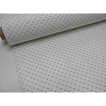 Metraje 0,50 mts tela etamín visillo cortinas Ref. Plumeti color moka, con ancho 2,80 mts.