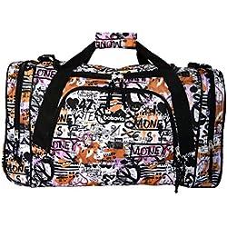 Bolsa de viaje equipaje de mano bolsa de deporte (5520 Graffiti)