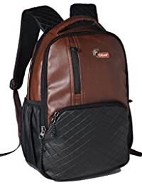 F Gear CEO 14 Ltrs Brown Laptop Backpack (2512)