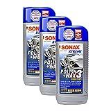 SONAX 3X 02022000 Xtreme Polish+Wax 3 Hybrid NPT Politur Wachs Pflege 500ml