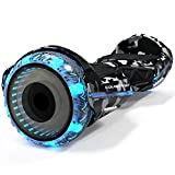 COLORWAY Hoverboard Overboard Gyropode Bluetooth SUV 6.5 Pouces, Scooter Electrique Moteur 700W...