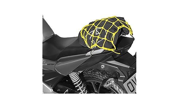 Yellow OXFORD OX659 Motorcycle Bright Net Cargo Net-Yellow//Reflective-OX659