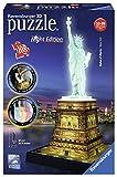 Ravensburger Italy 12596 - Puzzle 3D Building Night Edition Statua della Libertà New York immagine