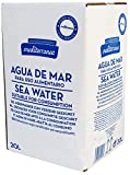 Mediterranea Agua de Mar Alimentaria en Envase de 20 Litros