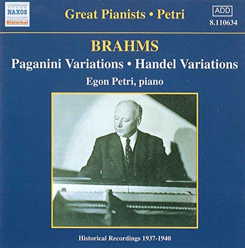 Paganini-Variationen/Händel-Va