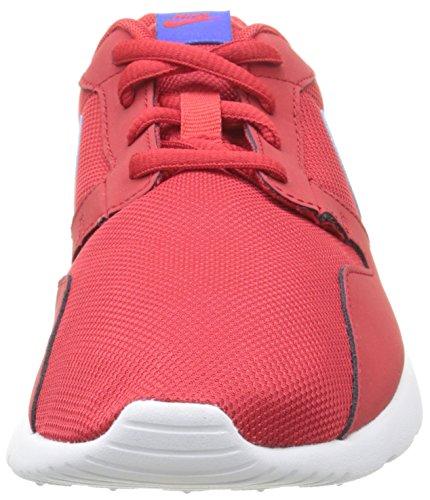 Nike Unisex-Kinder Kaishi (Gs) Low-Top, Black-White Rot (604 UNIVERSITY RED/RACER BLUE-WHT)