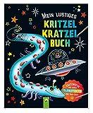 Mein lustiges Kritzel-Kratzel-Buch: Kratzmotive mit tollen Farbeffekten - Mit Holz-Stick
