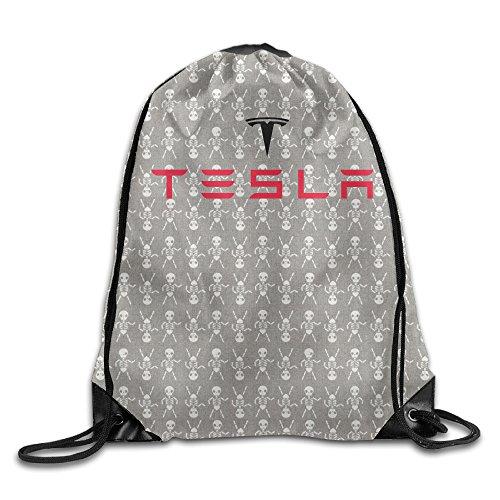 forth 3J Custom Tesla Car logo coulisse zaino Beam bocca Bags