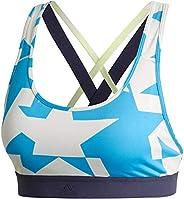 Adidas Women's Don't Rest Iteration Bra Sports Bras, White (Raw White), Medium