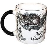 Desapareciendo gato de Cheshire - Alicia en el País de las Maravillas cambio de calor taza