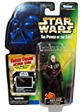 Star Wars Year 1997 The Power of the Force 4 Inch Tall Action Figure - DARTH VADER with Detachable Hand Removable Helmet and Red Lightsaber Plus Bonus Freeze Frame Action Slide by Kenner [parallel import goods]