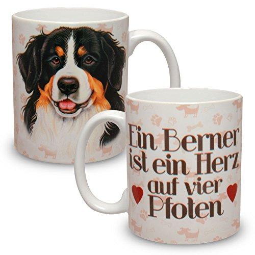 Kaffeebecher mit Motiv Hund Große XXL Tasse Berner Sennenhund
