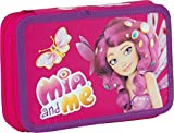 Exclusiv*Disney Mia and Me Federmappe Federmäppchen leer Doppeldecker EDEL