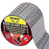 Giverny 50m Vogelabwehr Vogelband zur Abschreckung