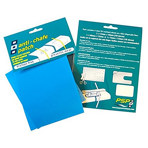PSP Marine Pack of 4 Clear Anti Chafe Patches Test