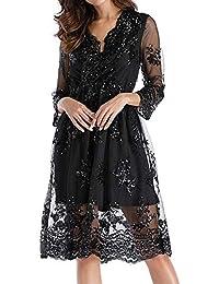 LANSKIRT   robe femme chic Robe à Manches Longues, Femmes de Mode Robe  Flash à 52662189cb06