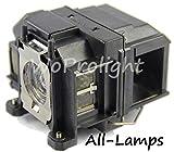 all-lamps Genuine LP67/V13H010L67proiettore lampada con alloggiamento per Epson Powerlite 12211261W eb-s02eb-s11eb-s12eb-x11eb-x12mg-850hd proiettori