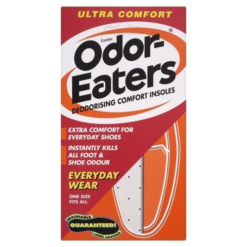 Odor-Eaters Lot de 3 paires de semelles ultraconfortables antiodeurs