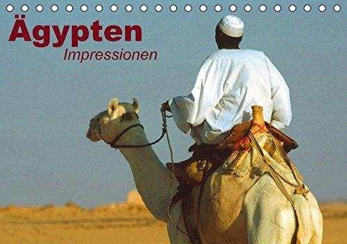 Ägypten • Impressionen (Tischkalender immerwährend DIN A5 quer): Das mystische Land der Pharaonen (Tischkalender, 14 Seiten) (CALVENDO Orte) [Kalender] [Jan 20, 2014] Stanzer, Elisabeth -
