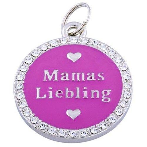 Artikelbild: Gift Company Anhänger mit Swarovski Kristalle Doggy Couture Mamas Liebling