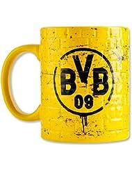 "'Mug Tasse Pott ""Borussia Dortmund BVB murale jaunes"