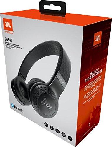 JBL E45BT On-Ear Bluetooth Kopfhörer, Stoff-Kopfbügel - Schwarz - 8