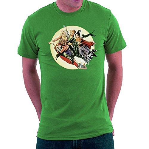 Hocus Pocus Winnifred Sarah Mary Witches Men's T-Shirt (Sarah Grün Halloween)