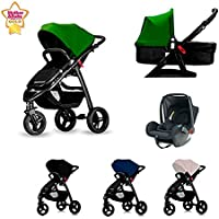 Star Ibaby One Cochecito de Bebe 3 Piezas All road.