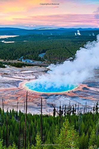 Hot Springs Yellowstone National Park (Grand Prismatic Hot Springs in Yellowstone National Park USA Journal: 150 Page Lined Notebook/Diary)