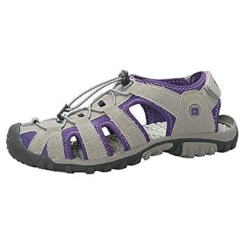 Mountain Warehouse Sandales Femmes Trek -Doublure en Néoprène, Chaussures de Plage avec Semelle Durable, Semelle intérieure EVA, Ajustables-pour la Marche et la Plage