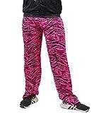 Foxxeo Jogginghose 80er Jahre Kostüm Trainingsanzug Assianzug Jogginganzug Retro schwarz pink S - XXXL, Größe:XXL/XXXL