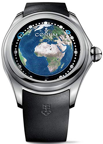 Limited Edition Corum Big Bubble Magical 52 Earth - UE Collection Mens Strap Watch 390.101.04/0371 EE01