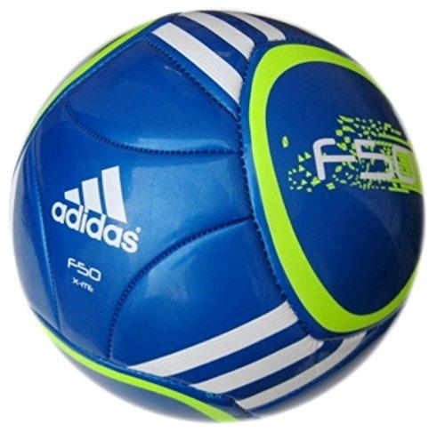 adidas Fußball F 50 X-ite, sharp blue f11/slime/white, 5, V87266 Image