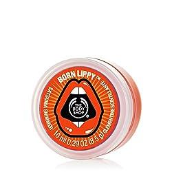 The Body Shop Born Lippy Pot Lip Balm, Satsuma Shimmer, 10ml