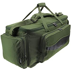 XXL Green Carp Fishing Tackle Bag Holdall NGT 909L Insulated Bag from NGT