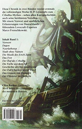 Livres Couvertures de Chronik des Cthulhu-Mythos I