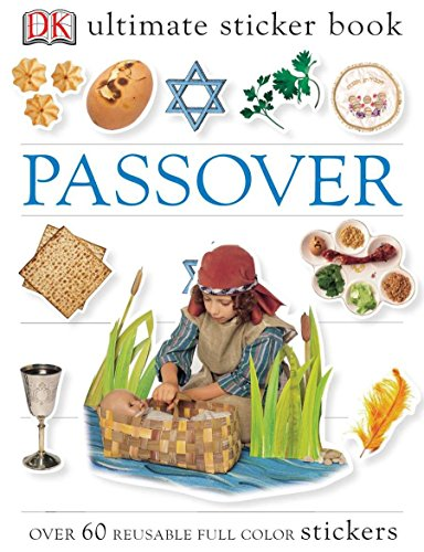 Passover [With Over 60 Reusable Stickers] (DK Ultimate Sticker Books) por Dk