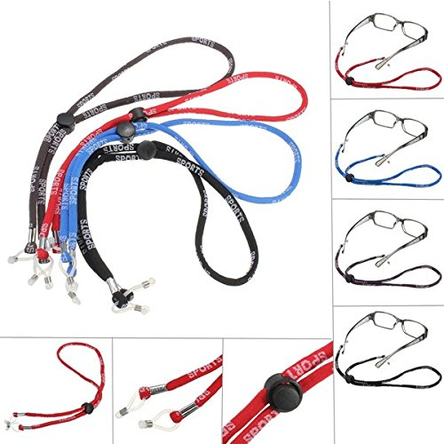 Calli Gläser Sunglass Sports Cord Nylon Umhängeband Brillensaitenniederhalter