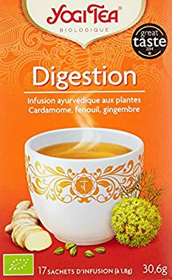 Yogi Tea Infusion Digestion 17 Sachets - Lot de 3