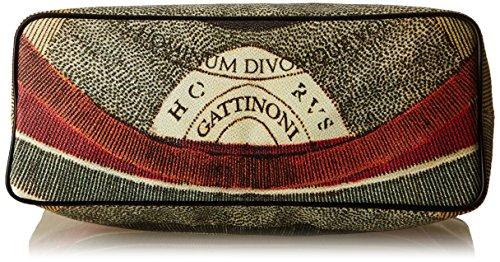 Gattinoni Gacpu0000122, Borsa a Spalla Donna, 14x36x34 cm (W x H x L) Multicolore (Classico)