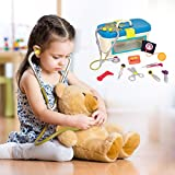B. Dr. Doctor Toy - Deluxe Medical Kit for Toddlers - Pretend Play Set for Kids (10 Pieces)