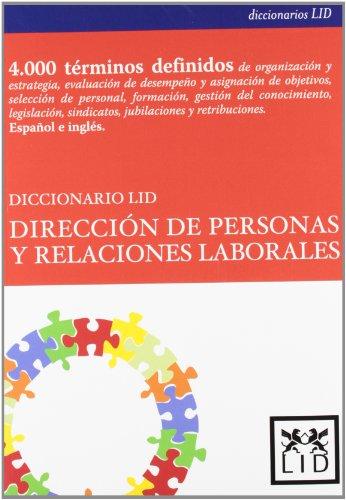 Diccionario Lid Dirección de personas y relaciones laborales