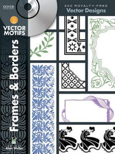 Frames & Borders Vector Motifs (Dover Electronic Clip Art)
