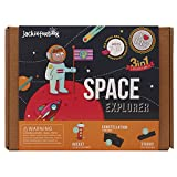 jackinthebox Space Themed Craft Kit Educational Toy Boys Girls   3 Activities-in-1 Kit